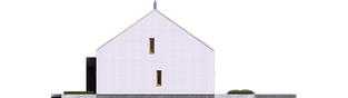 Projekt domu EX 18 G2 ENERGO PLUS - elewacja lewa