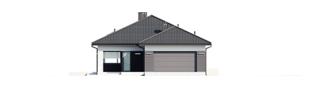 Projekt domu Alison III G2 - elewacja frontowa