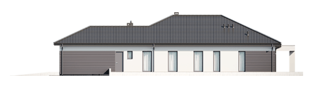 Projekt domu Alison III G2 - elewacja prawa