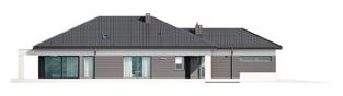 Projekt domu Alison III G2 - elewacja lewa