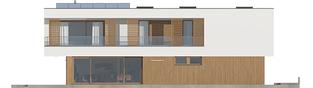 Projekt domu EX 17 W2 ENERGO PLUS  - elewacja lewa