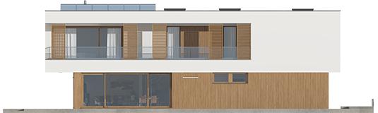 EX 17 S2 ENERGO A++ - Projekt domu EX 17 W2 - elewacja lewa