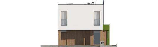EX 17 S2 ENERGO A++ - Projekt domu EX 17 W2 - elewacja frontowa