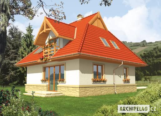 Projekt rodinného domu - Karina