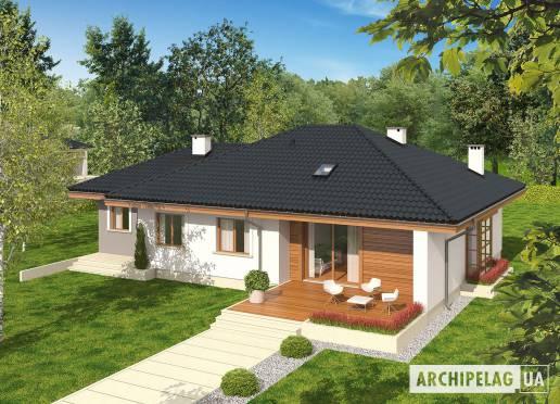Проект будинку - Франчі ІІI (Г1, Економ, версія А)