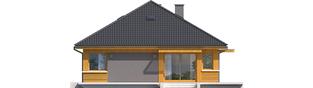 Projekt domu Anabela G1 MULTI-COMFORT - elewacja lewa
