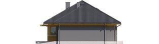Projekt domu Anabela G1 MULTI-COMFORT - elewacja prawa