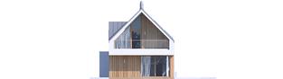 Projekt domu EX 20 G2 ENERGO PLUS - elewacja tylna