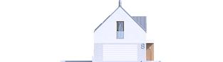 Projekt domu EX 20 G2 ENERGO PLUS - elewacja frontowa