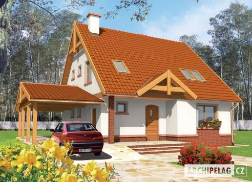 Projekt rodinného domu - Cyrilka
