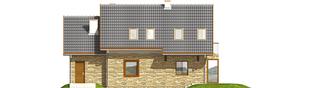 Projekt domu Nika G1 - elewacja tylna