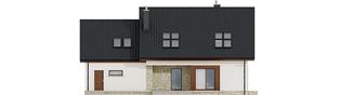 Projekt domu Marcin G2 - elewacja tylna