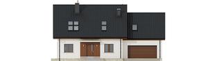 Projekt domu Marcin G2 - elewacja frontowa