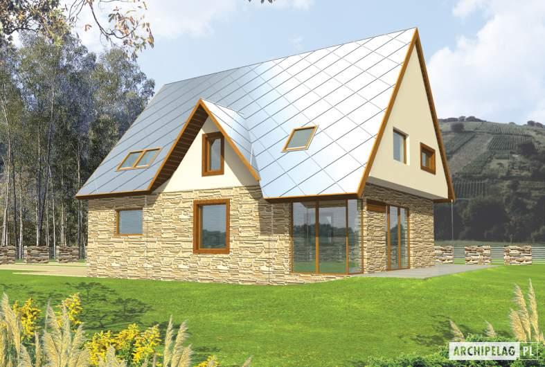 Projekt domu Lotka (z wiatą) -