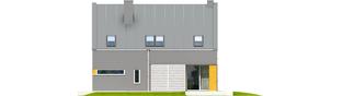 Projekt domu Antek G1 - elewacja tylna