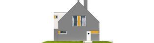 Projekt domu Antek G1 - elewacja prawa