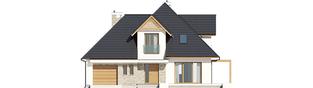 Projekt domu Tilda G1 - elewacja frontowa