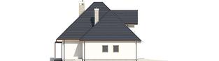Projekt domu Tilda G1 - elewacja lewa