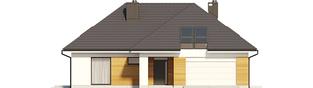Projekt domu Olaf G2 - elewacja frontowa