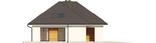 Projekt domu Olaf G2 - elewacja lewa