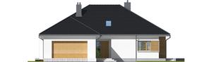 Projekt domu Marcel III G2 - elewacja frontowa