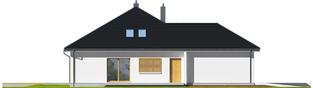 Projekt domu Marcel III G2 - elewacja lewa