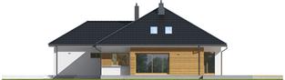 Projekt domu Marcel III G2 - elewacja prawa