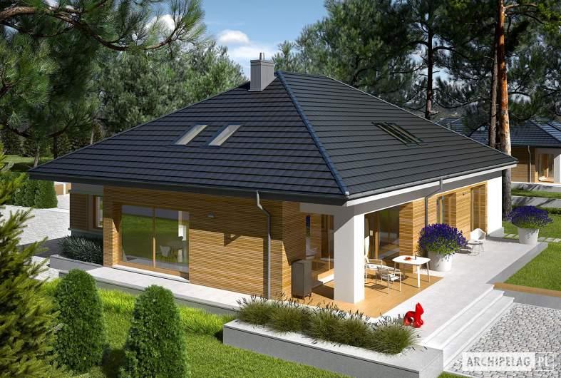 Projekt domu Marcel III G2 - widok z góry