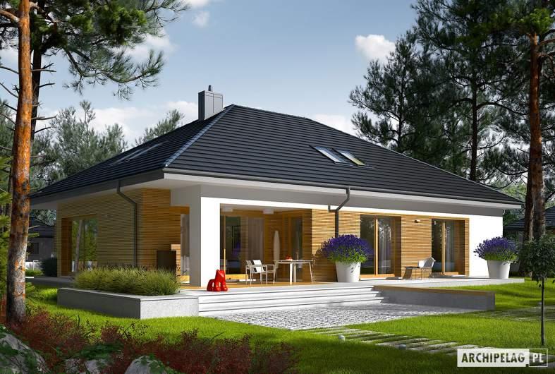 Projekt domu Marcel III G2 - wizualizacja ogrodowa