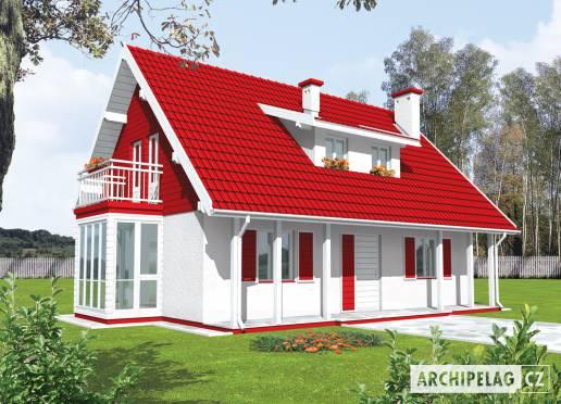 Projekt rodinného domu - Radovana