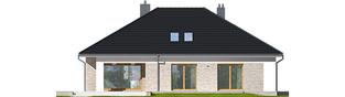 Projekt domu Marcel IV G2 - elewacja tylna