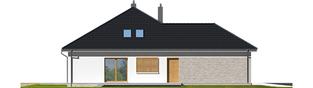 Projekt domu Marcel IV G2 - elewacja lewa