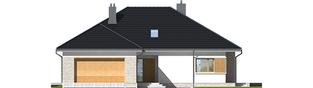 Projekt domu Marcel IV G2 - elewacja frontowa
