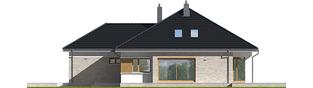 Projekt domu Marcel IV G2 - elewacja prawa