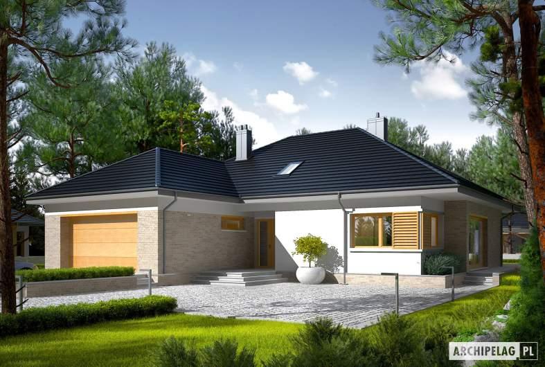 Projekt domu Marcel IV G2 - wizualizacja frontowa