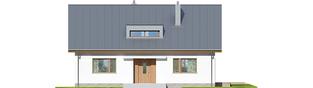 Projekt domu Swen - elewacja frontowa