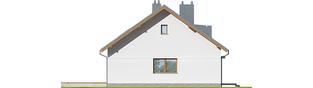 Projekt domu Swen - elewacja lewa