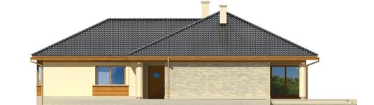 Alanas G1 - Projekt domu Alan G1 - elewacja prawa