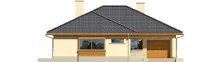 Projekt domu Alan G1 - elewacja frontowa