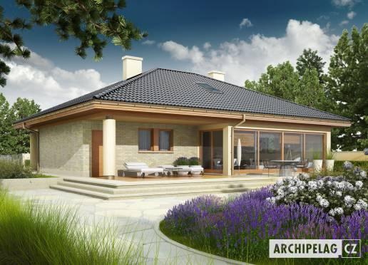 Projekt rodinného domu - Alan G1