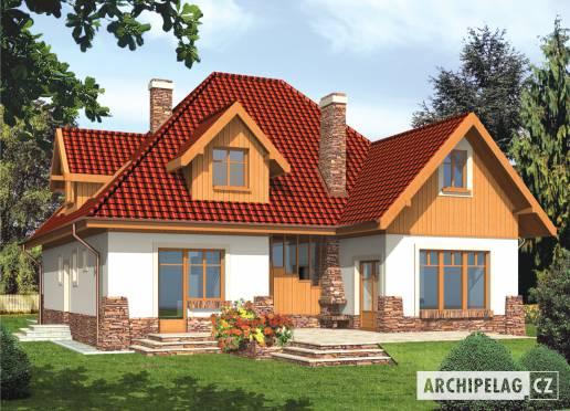Projekt rodinného domu - Jasněnka