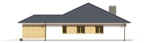 Projekt domu Irma III G1 ENERGO PLUS  - elewacja prawa
