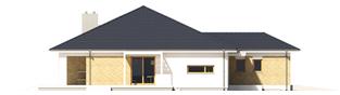 Projekt domu Irma III G1 ENERGO PLUS  - elewacja lewa