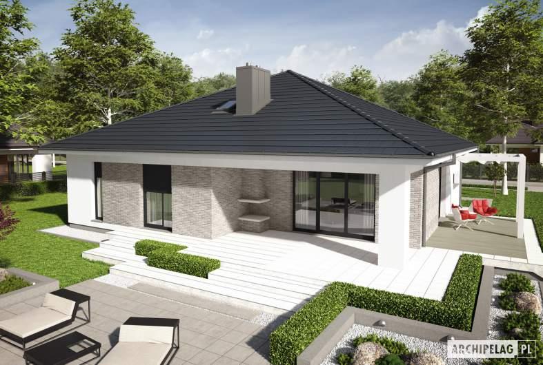 Projekt domu Irma III G1 ENERGO PLUS - widok z góry