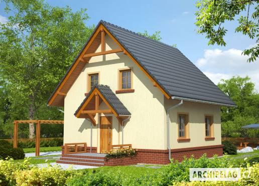 Projekt rodinného domu - Bohunka