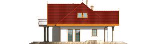 Projekt domu Paloma G2 - elewacja lewa