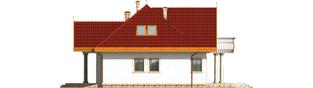 Projekt domu Paloma G2 - elewacja prawa