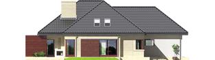 Projekt domu Teo (mały) G2 - elewacja lewa