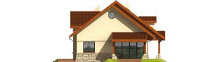 Projekt domu Elena G1 - elewacja lewa