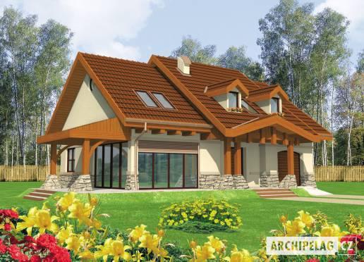 Projekt rodinného domu - Elena